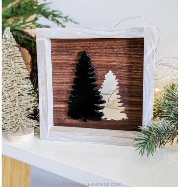 Free plans to build your own Tree Cut Out Art.