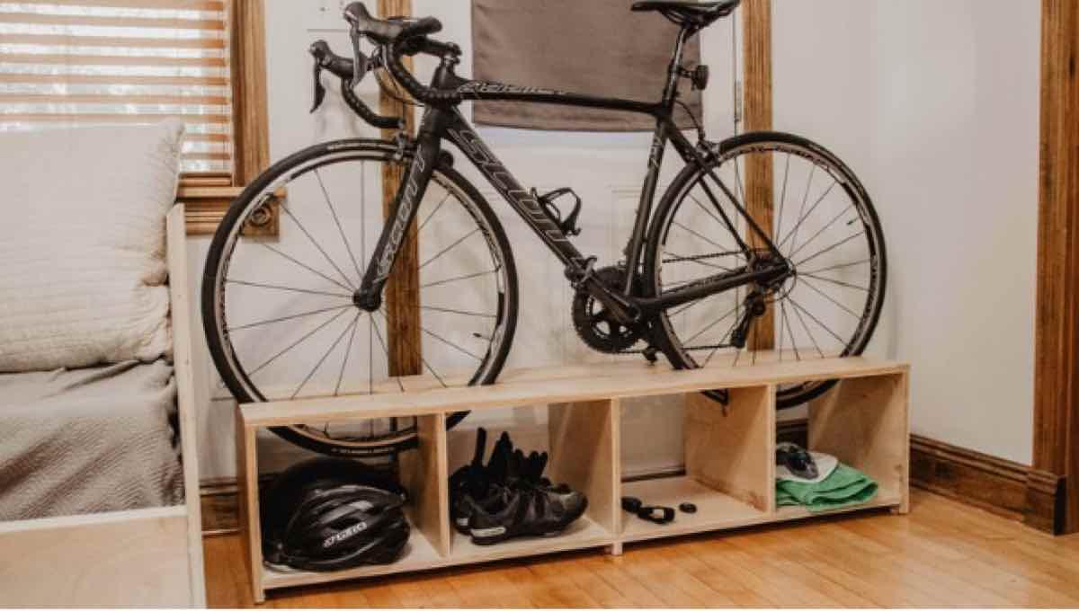 free woodworking plans, compact bike racks