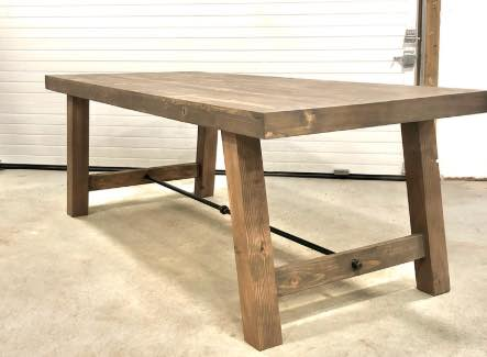 Industrial Farmhouse Table