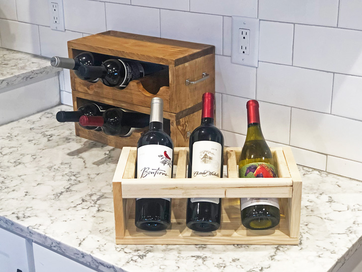Build an inexpensive Wine Rack/Holder.