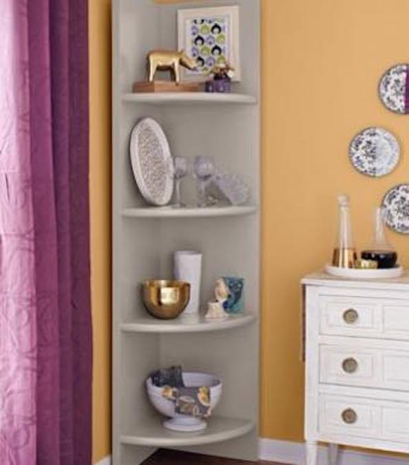 Learn how to build Corner Shelves.
