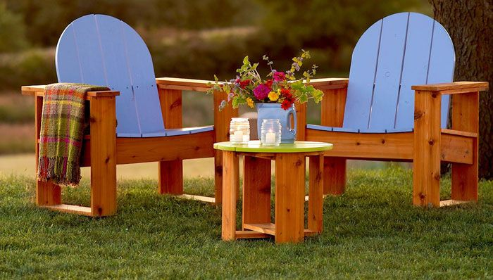 Adirondack Inspired Chairs