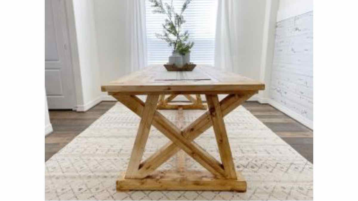Learn how to build your own dining table.