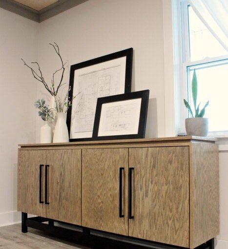 Modern Console Cabinet