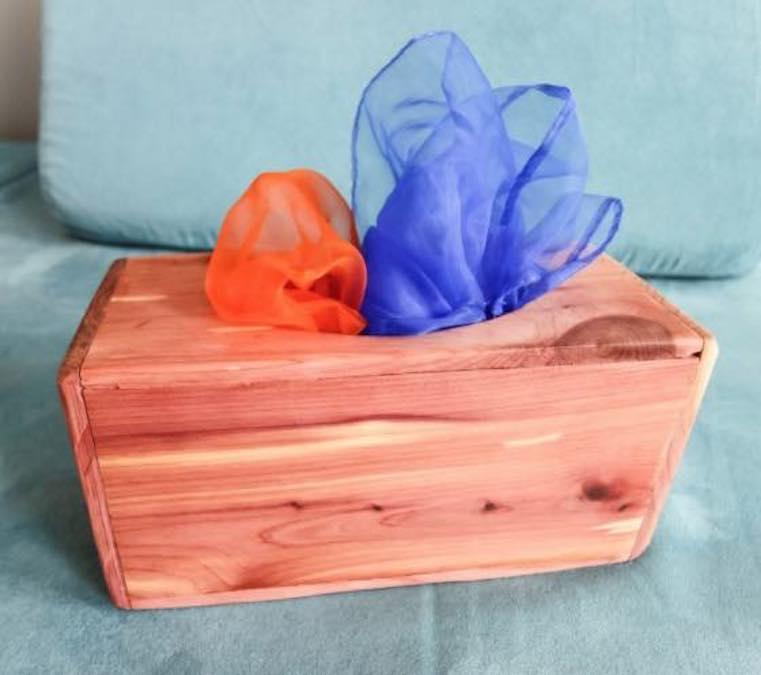 Build a Magic Tissue Box for Babies.