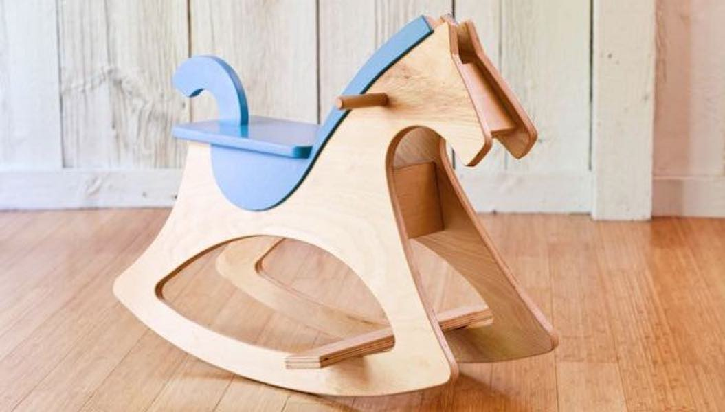 Free plans to build a Rocking Horse.