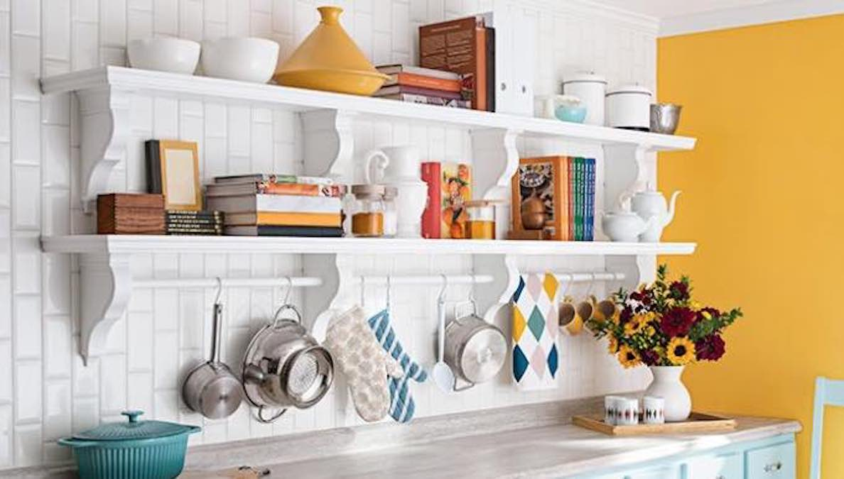 Learn how to build your own Kitchen Wall Shelf.