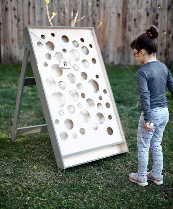 Free plans to build your own Ball Maze Game.