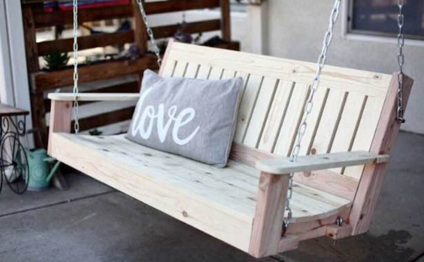 Swing Bench for your Porch