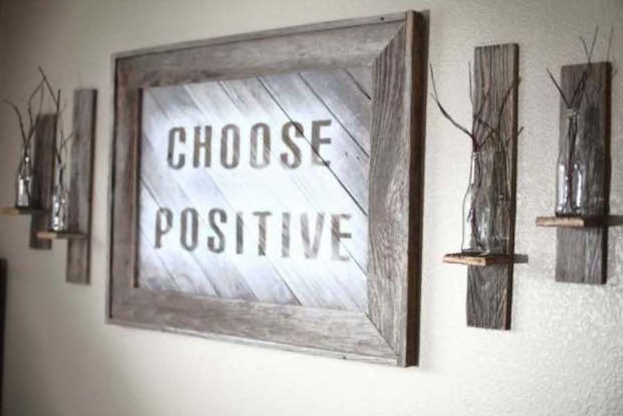 Free plans to build your own Wood Frame Sign.