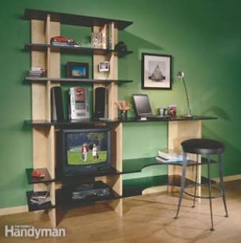 Free plans to build your own Stackable Shelves.