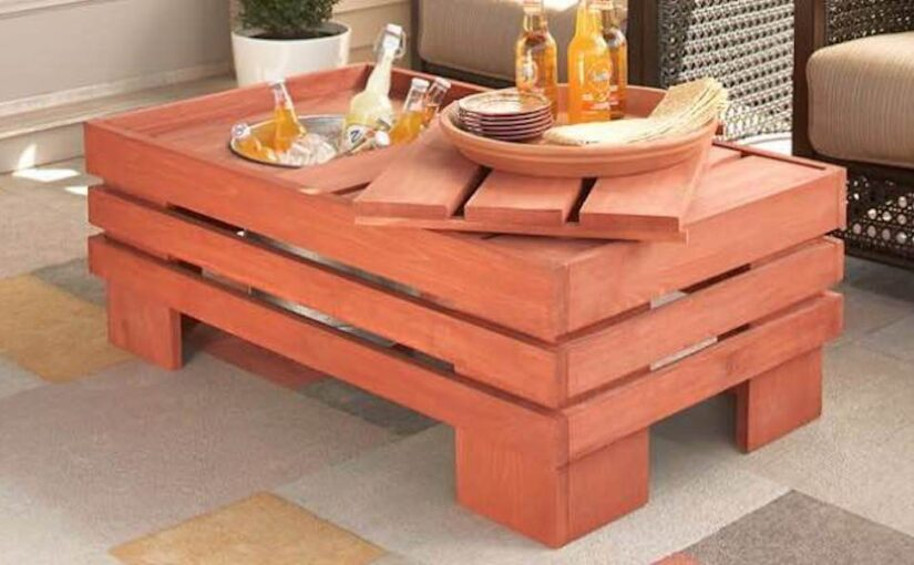 Beverage Coffee Table