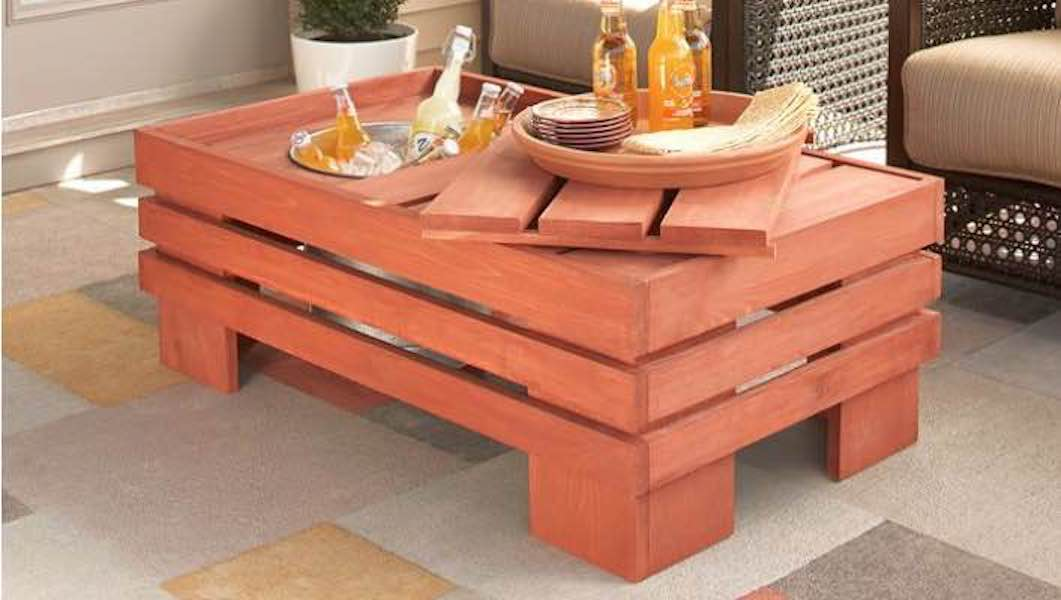 Learn how to build a Beverage Coffee Table.
