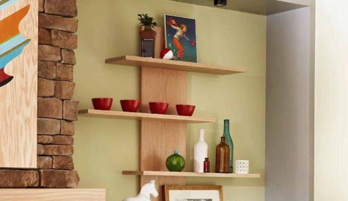 Free plans to build an Open Shelving unit.