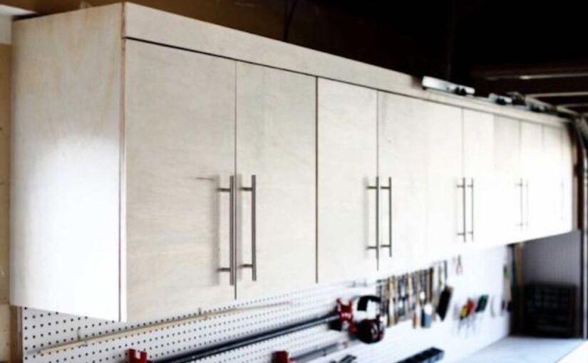 Wall Mounted Garage Cabinets