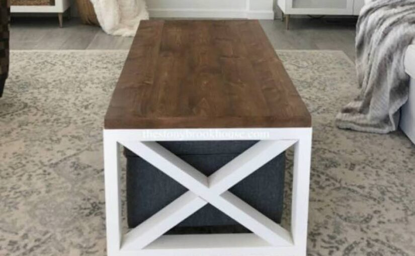 Simple Farmhouse Coffee Table
