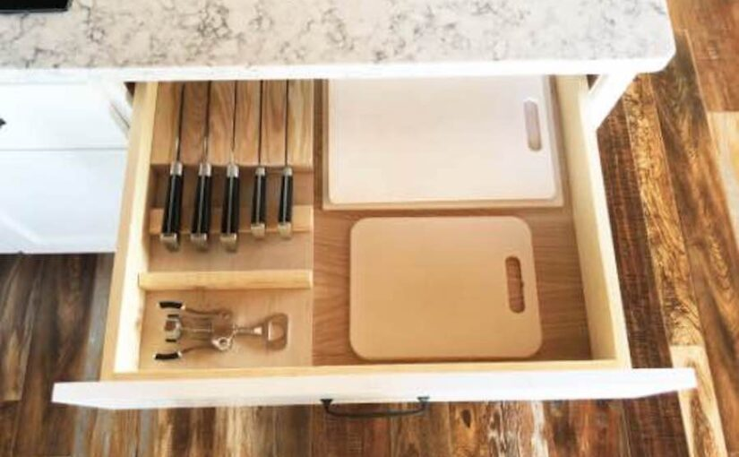 Drawer Knife Block