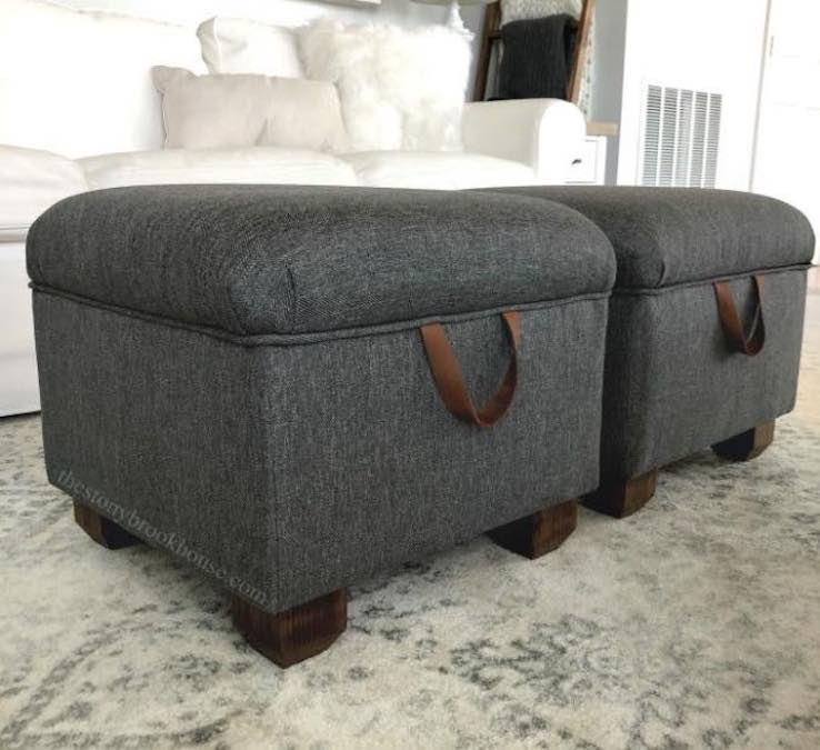 Free plans to Build your own Ottoman.