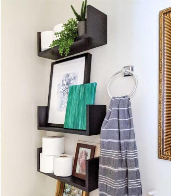 Free plans to build Floating Wall Shelves.