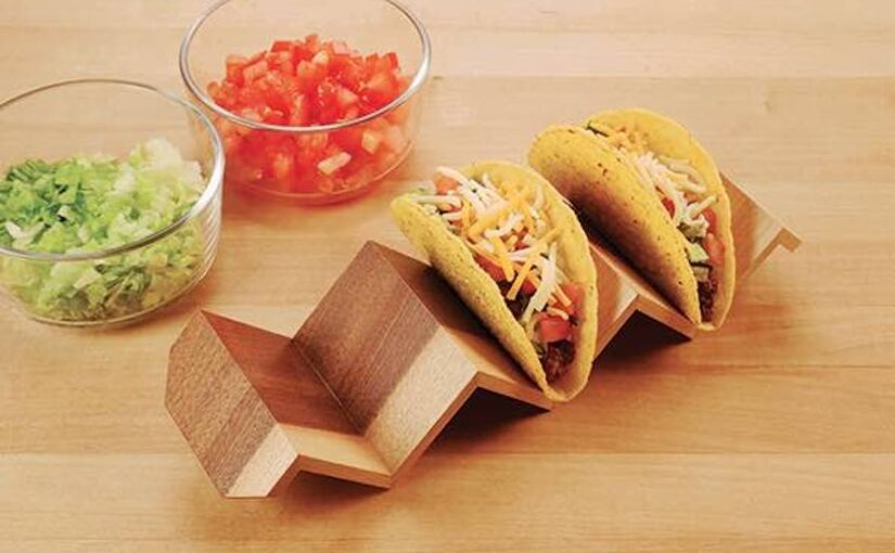 Continuous Grain Taco Holder