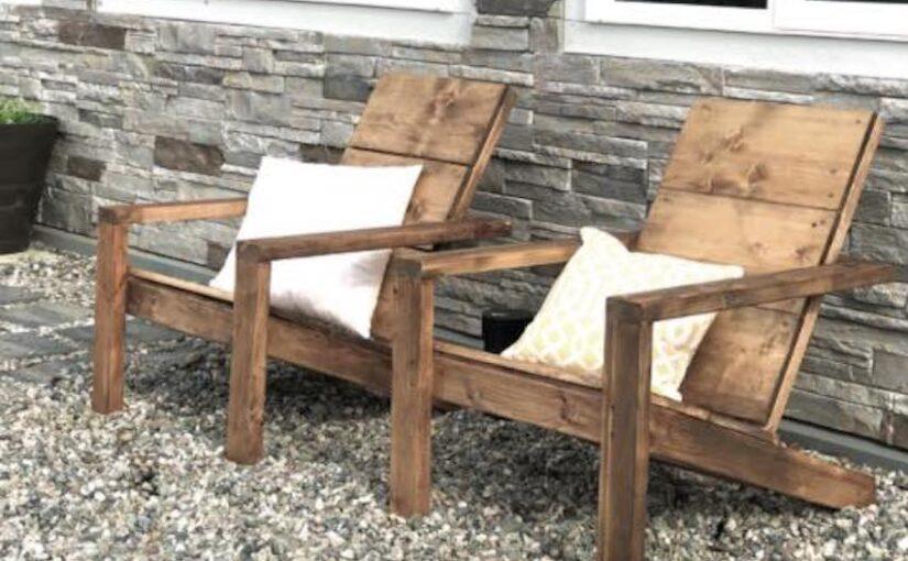 2 x 4 Adirondack Chair