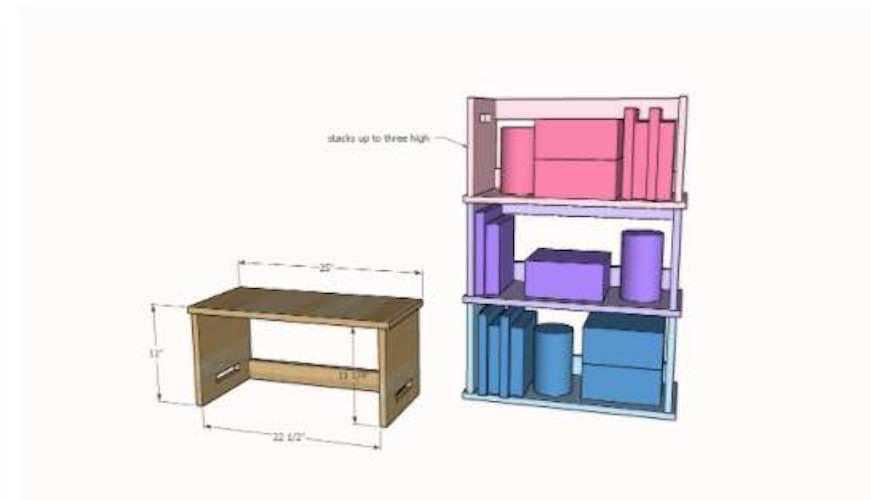 Free plans to build a childs Lap Desk.