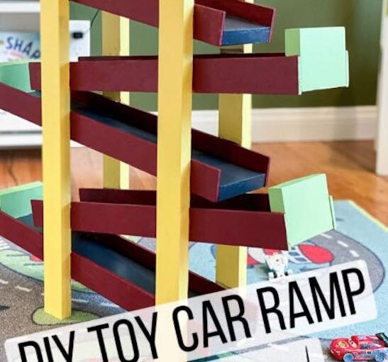 Toy Car Ramp