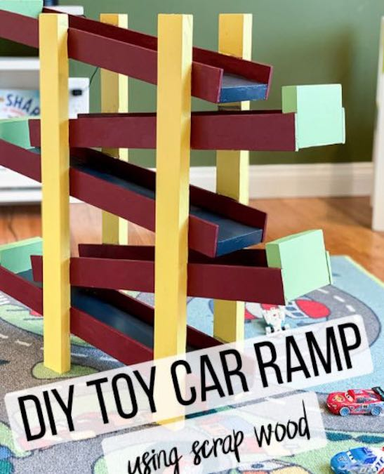 Free plans to build a Toy Car Ramp