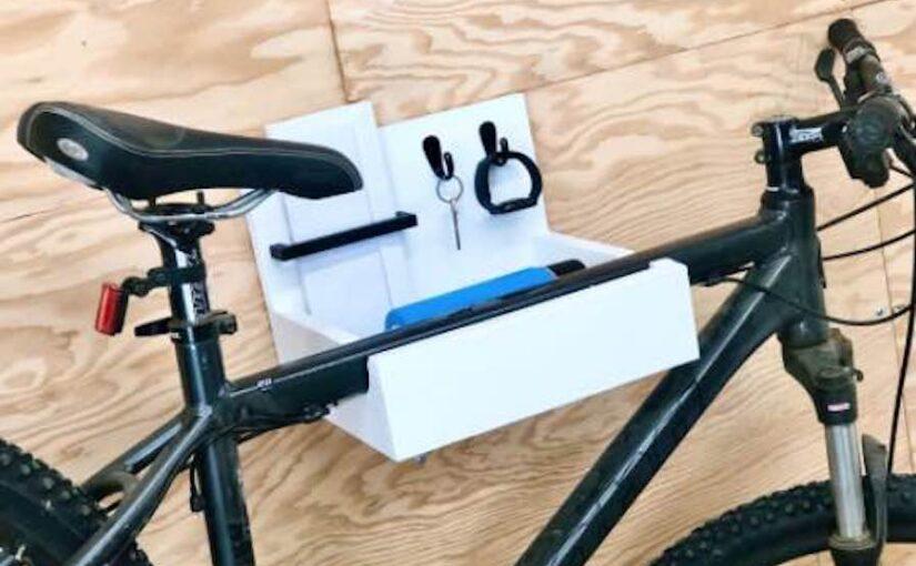 Bike Wall Hanger Drop Zone