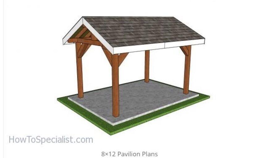 Gable Pavilion 8 x 12