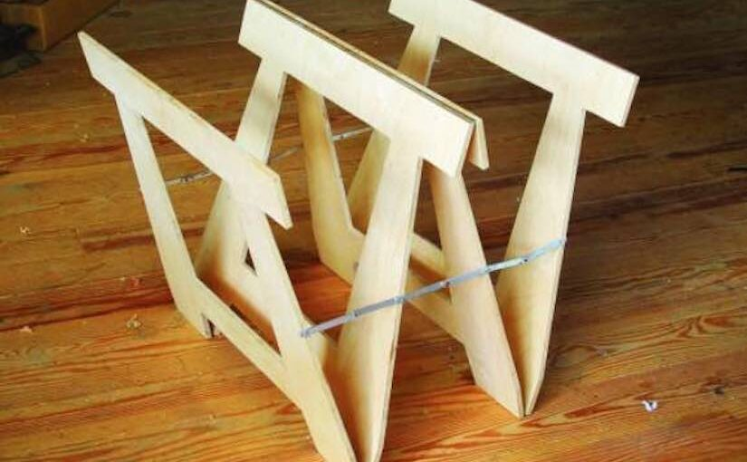 Butterfly Sawhorse