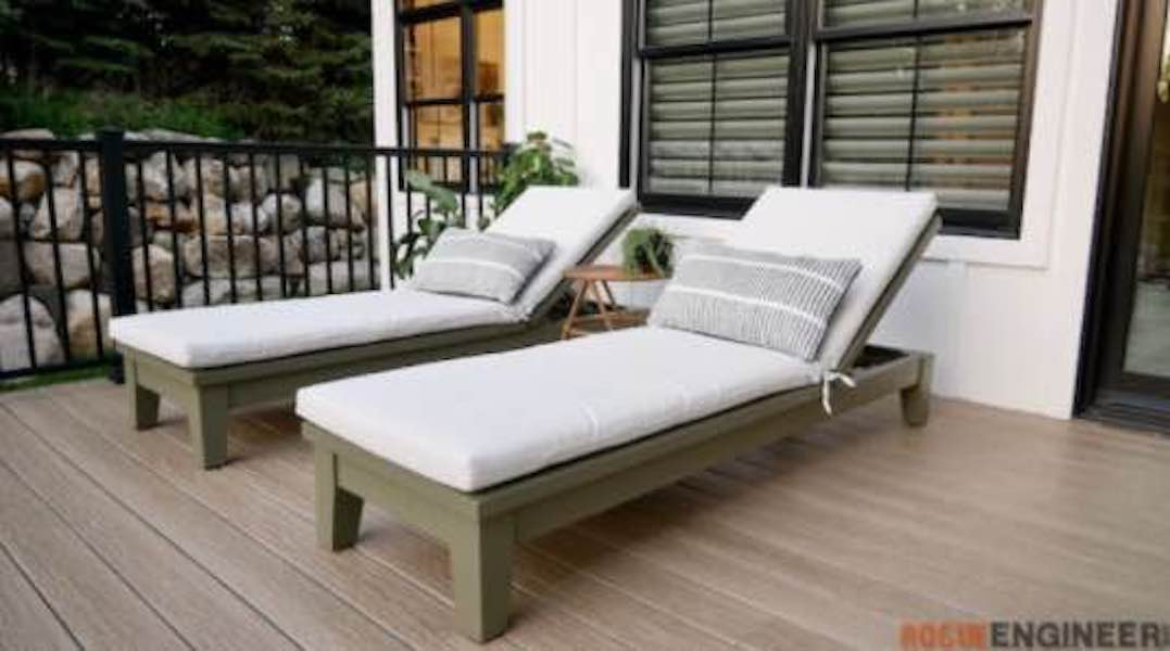 Free plans to build a Chaise Lounge Chair.