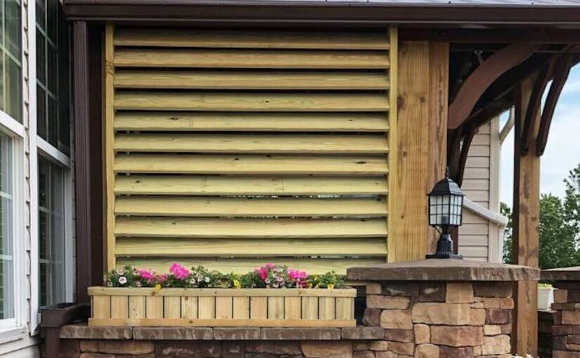 Privacy Screen For Outdoors