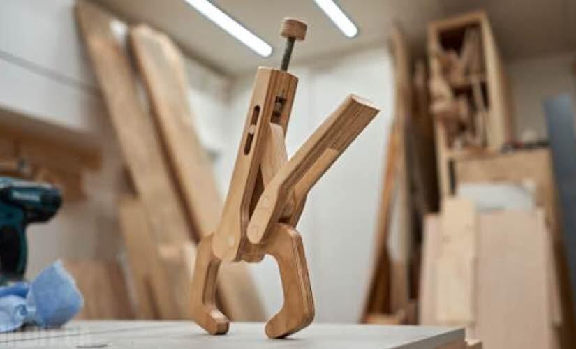 Wood Vise Grip Clamp