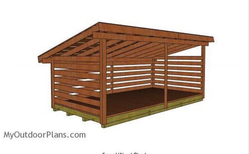 Firewood Shed for 5 Cord