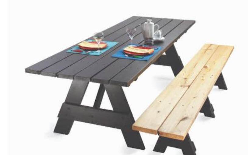 Picnic Table for Dining Room Table