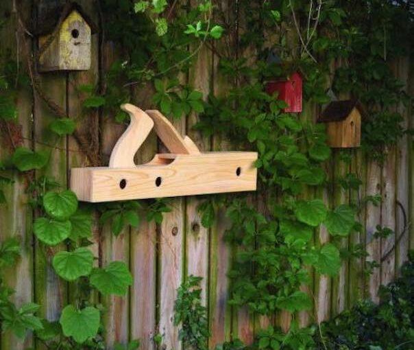 Old Plane Birdhouse