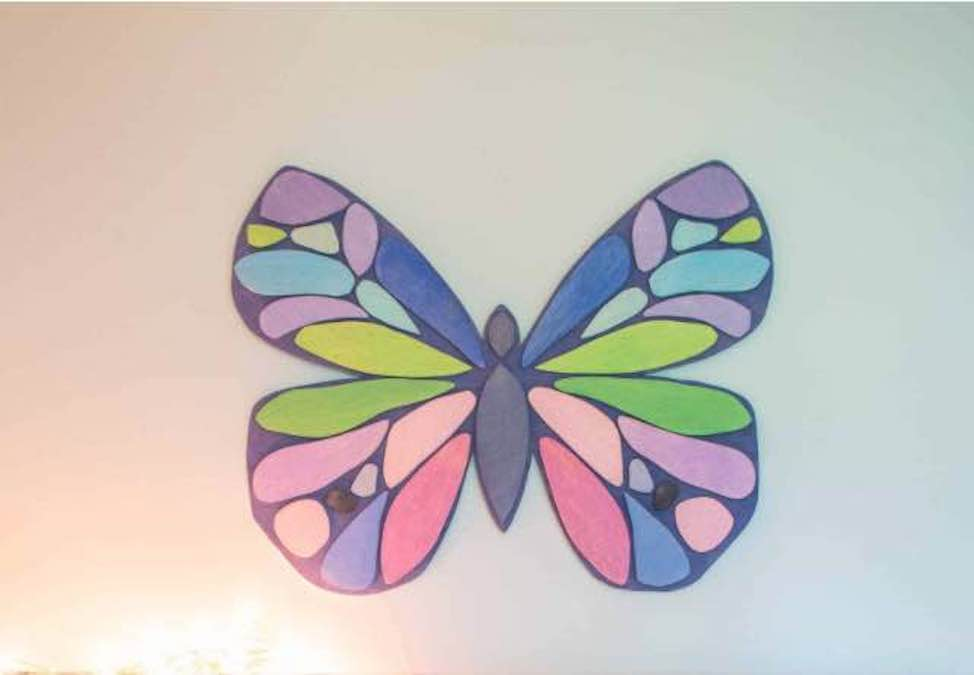 Free plans to build your own Butterfly Wall Art.