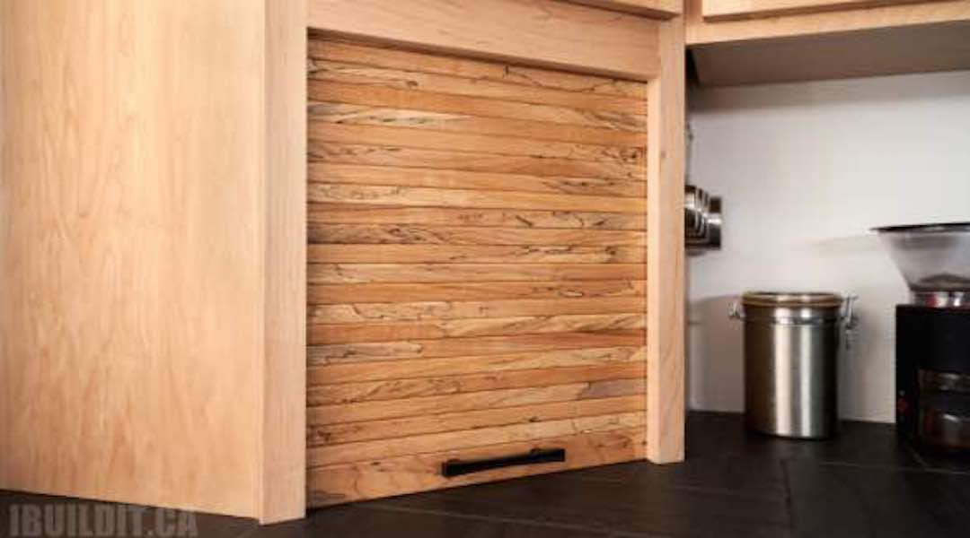 Free plans to build a Tambour Door.