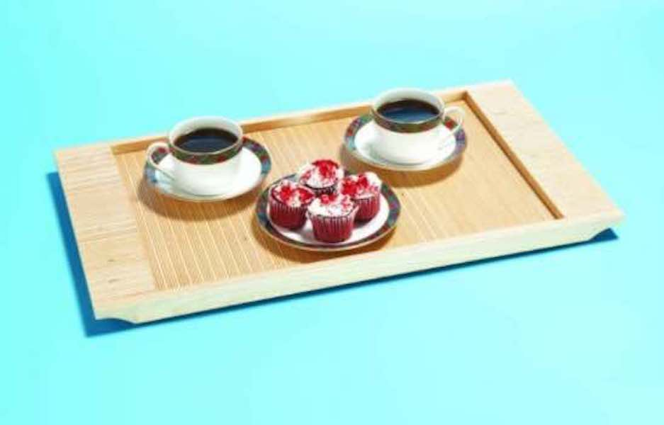 Free plans to build a Plywood Serving Tray.
