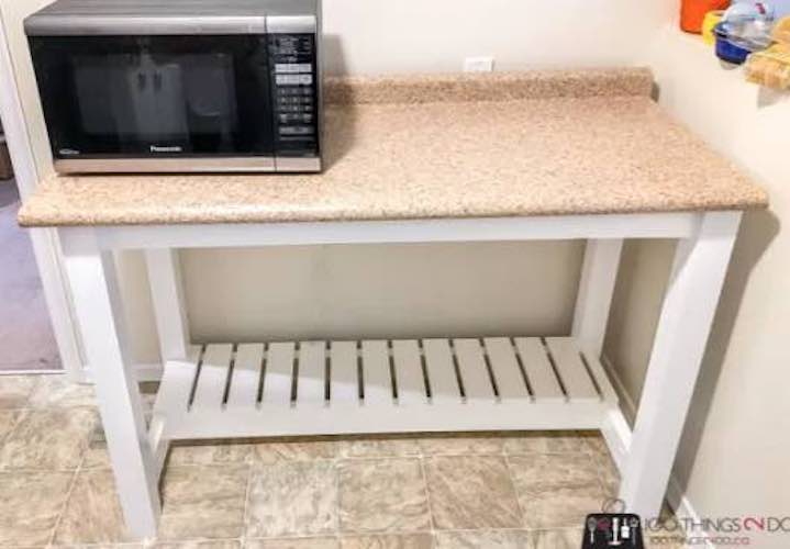 Build Your Own Kitchen Island with free plans.