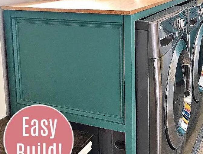 Laundry Table Free Plan