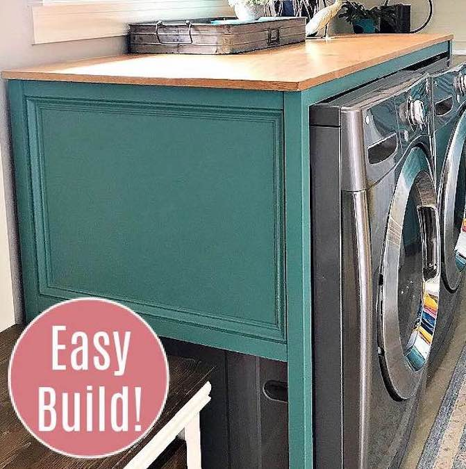 Build a laundry room table using free plans,