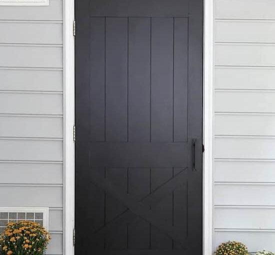 Faux Barn Door