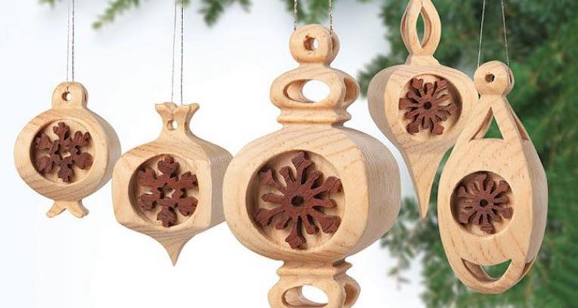 Free plans to make Compound-Cut Ornaments.