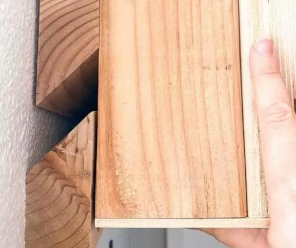 Make a French Cleat