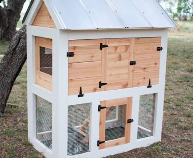 Small Chicken Coop DIY