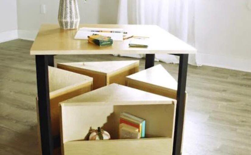 Kids Nesting Table