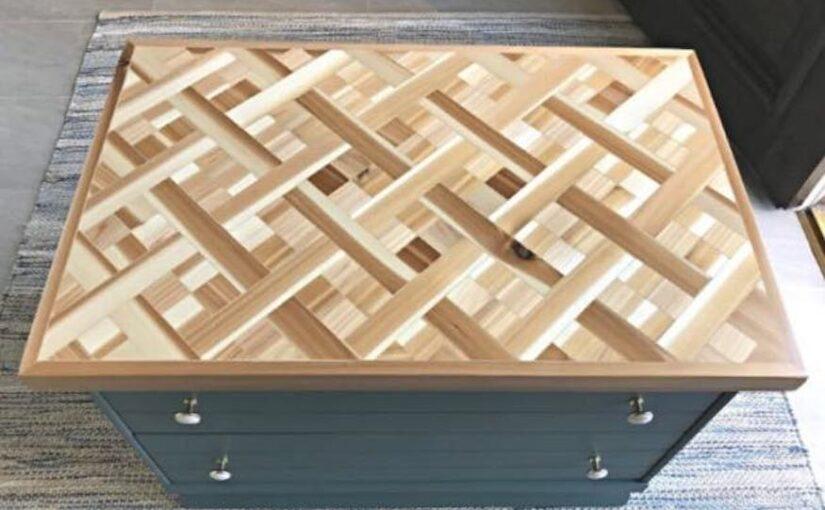 Wood Mosaic Table Top