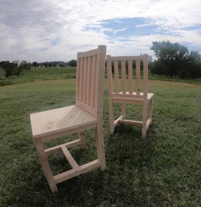 Free plans to build dining chairs.